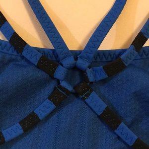 lululemon athletica Intimates & Sleepwear - Royal Blue and Black Lululemon Bra